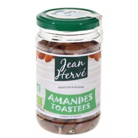 ORGANIC ALMONDS TOASTED BY WOODFIRE