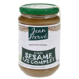 ORGANIC HALF WHOLE SESAME PUREE